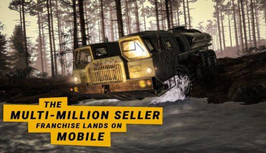 『MudRunner Mobile』泥道を走るオフロード・作業ドライブゲーム – 面白いゲーム情報 iOS/Android