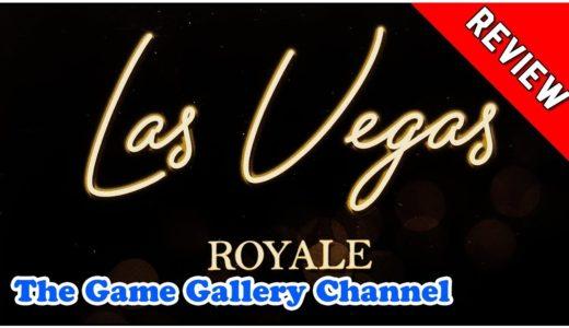 【ボードゲーム レビュー】「ラスベガス ロイヤル」- アレア新シリーズ開幕