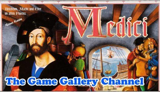 【ボードゲーム レビュー】「メディチ」- 古典的セリの名作ゲーム