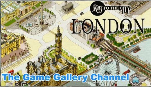 【ボードゲーム レビュー】「Key to the City London」- Keyflowerがロンドンに降臨
