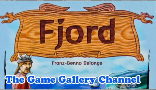 【ボードゲーム レビュー】「Fjord (フィヨルド)」- カルカソンヌ風対戦型タイルゲーム