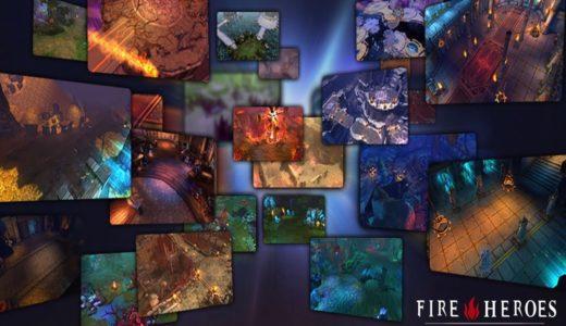 ファイアーヒーローズ【おすすめ面白い無料スマホゲーム】ダークファンタジーオンラインゲーム  Fire Heroes  Mobile Gameplay  Dark fantasy online game