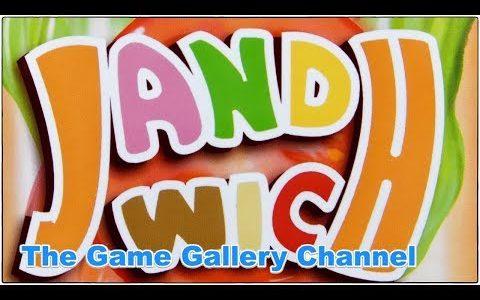 【ボードゲーム レビュー】「ジャンドイッチ」- サンドイッチ+麻雀。それがジャンドイッチ!