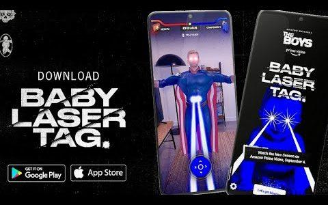 海外ドラマ『ザ・ボーイズ』モバイルゲーム『Baby Laser Tag ベビーレーザータッグ』PR映像