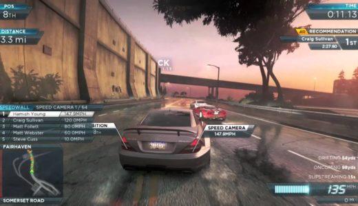 ニード・フォー・スピード モスト・ウォンテッド:最新ゲームプレイ映像