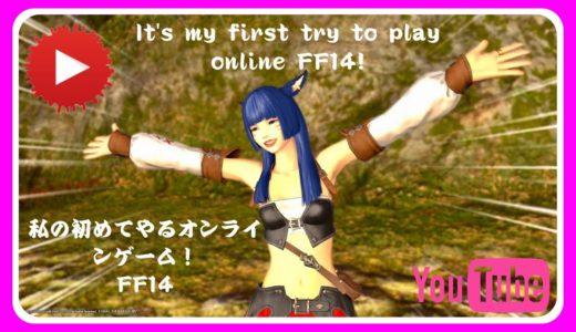 初めてのオンラインゲーム![FF14]