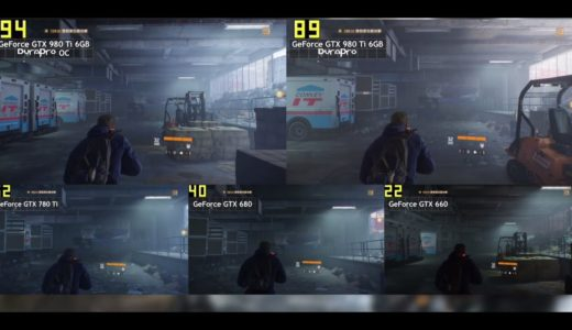 Durapro GeForce 980Ti 最新ゲームベンチマーク比較