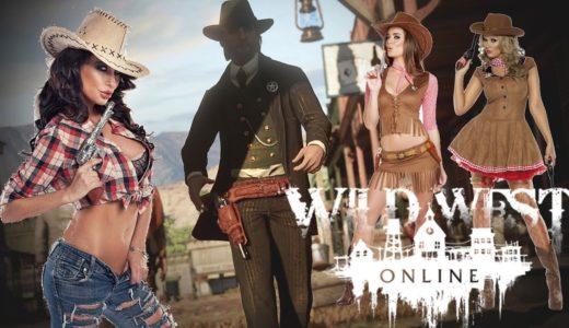 【ワイルドウエストオンライン】オープンワールド西部劇MMO最新ゲーム #1 【ゲーム実況】Wild West Online