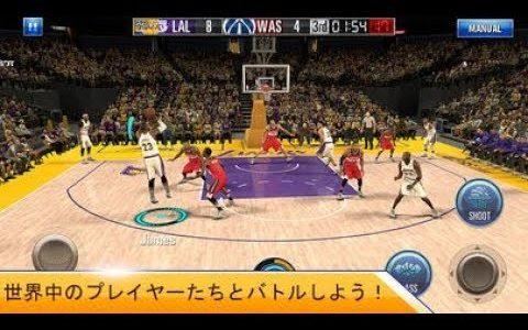 【新作】NBA 2K モバイル バスケットボール 面白い携帯スマホゲームアプリ
