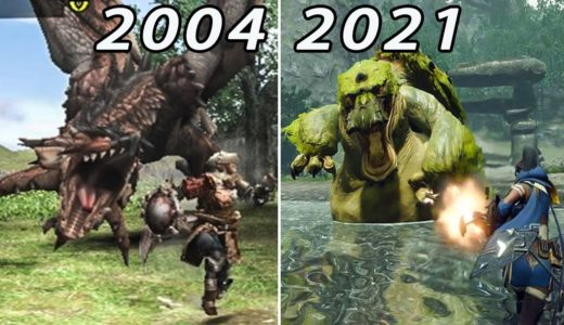 モンスターハンター 進化の軌跡 / Evolution of Monster Hunter Games 2004-2021