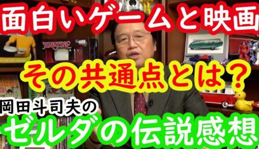 【ゼルダの伝説感想4】面白いゲームと面白い映画アニメの共通点とは?岡田斗司夫切り抜き