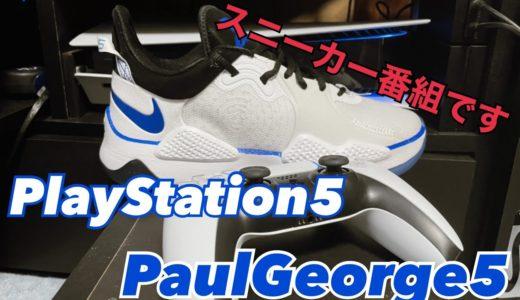 【PS5xPG5】最新型ゲーム機(をモデルにした靴)をGOT'EMしました