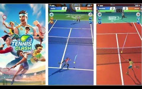 【新作】プロテニス対戦 面白い携帯スマホゲームアプリ