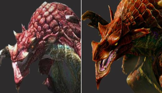 Volvidon Evolution in Monster Hunter  2010-2021 / ラングロトラ 進化の軌跡  「モンスターハンター」