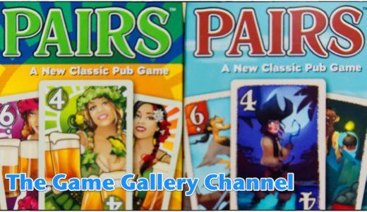 【カードゲーム レビュー】「ペアーズ」- ペアになると負けてしまうカードゲーム