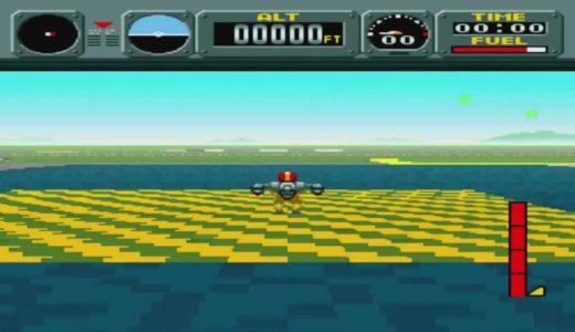 適当ゲームレビュー #1 パイロットウイングス (スーパーファミコン版)