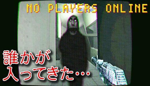 【フリーホラー】VHS&PS1風のオンラインゲーム中に誰かが入ってきた…【NO PLAYERS ONLINE】
