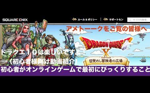 ヾ(・ω・。`)「ドラゴンクエスト芸人 アメトーーク」オンラインゲームが怖いわからない人ための「ドラクエ10」ってどんなのか?の紹介 もみけん