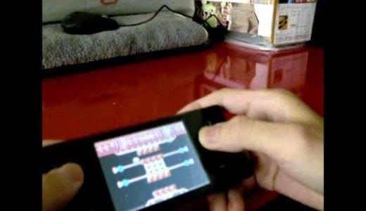 携帯ゲーム機 丁果(Dingoo)A-320でスターソルジャーをマジプレイ!