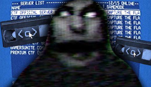 暗号とパスワードを入力してたら怖いビデオ映像が流れはじめた。誰もいないはずのオンラインゲームの秘密の部屋(ホラーゲーム)