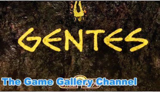 【ボードゲーム レビュー】「Gentes」- ラ・グランハ等のメーカー「Spielworxx」の2017年新作