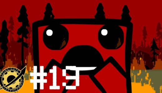 #19 お気楽ゲームレビュー SUPER MEAT BOY (肉少年)